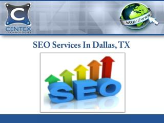 SEO Services In Dallas, TX