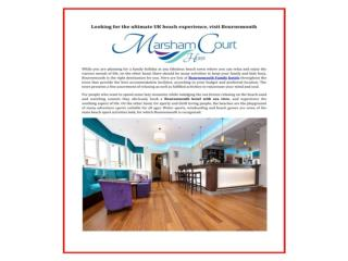 Bournemouth family holiday hotel & meeting, conference, wedd