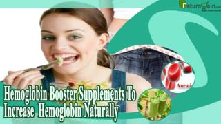Hemoglobin Booster Supplements To Increase Hemoglobin Natura