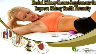 Herbal Kidney Cleanse Supplements To Improve Kidney Health N