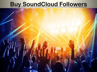 The Importance of Buy SoundCloud Followers