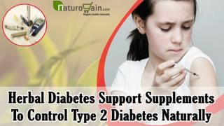 Herbal Diabetes Support Supplements To Control Type 2 Diabet