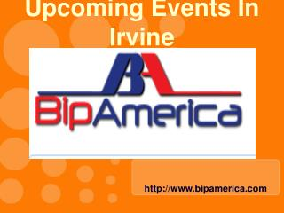 Upcoming Events In Irvine