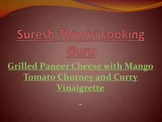 Suresh Thimiri cooking Guru
