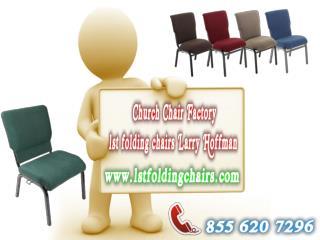 Church Chair Factory - 1st folding chairs Larry Hoffman