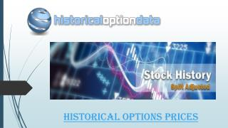 Historical Options Prices