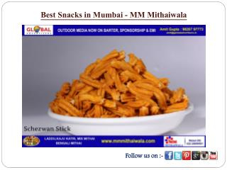 Best Snacks in Mumbai - MM Mithaiwala