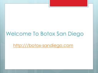 Amazing Changes Before And After Botox San Diego