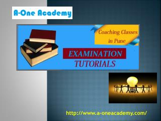 Best Coaching Classes in Pune- A-One Academy Pune