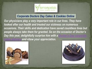 Corporate Gifts - Cakes and Cookies For Doctors Online