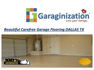 Beautiful Carefree Garage Flooring DALLAS TX