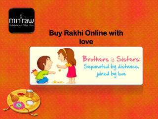 Buy Rakhi Online with Free Shipping