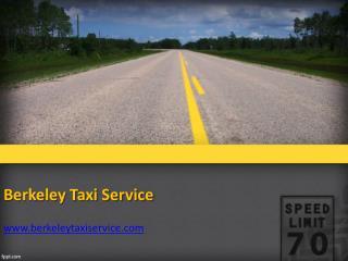 Berkeley taxi cab service