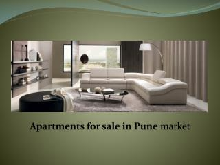 Apartments for sale in Pune market