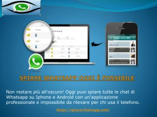 Come spiare Whatsapp su Android