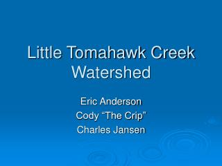 Little Tomahawk Creek Watershed