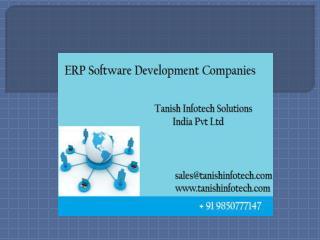 ERP Software Development in Pune