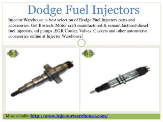 Dodge Ram Fuel Injectors