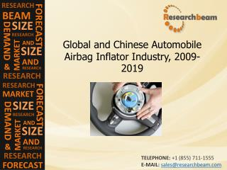 Automobile Airbag Inflator Industry Size, Trends, 2009-2019