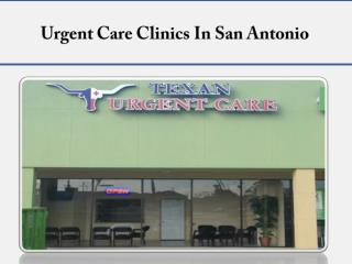 Urgent Care Clinics In San Antonio