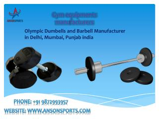 Olympic Dumbells and Barbell Manufacturer in Delhi, Mumbai,