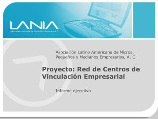 Asociaci n Latino Americana de Micros, Peque os y Medianos Empresarios, A. C.