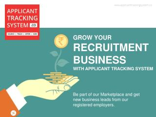 Business Leads - by Applicant Tracking System