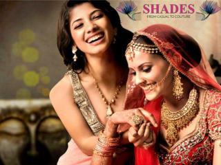 Buy Designer Saree Online @ www.shadesandyou.com