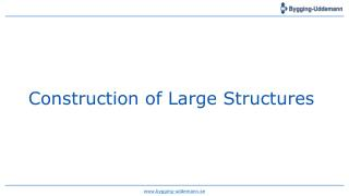 Design and Construction Of Large Concrete Structures