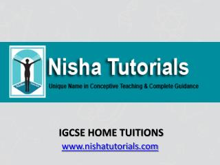 IGCSE Home Tuitions In Mumbai