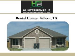 Rental Homes: Killeen, TX
