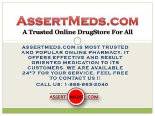 Assertmeds.com The Secured Online Pharmacy For Men and Women