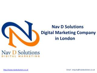 Digital Marketing Company in London - Nav D Solutions