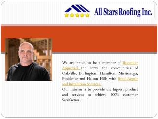 Roofing Oakville, Hamilton Roofing, Oakville Roof Repair