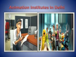 animation institutes in delhi
