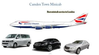 Camden Minicab & Taxi Booking to and from Heathrow