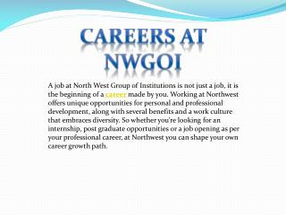 Careers at NWGOI