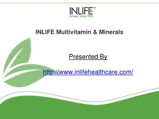 Multivitamin tablets | Inlifehealthcare
