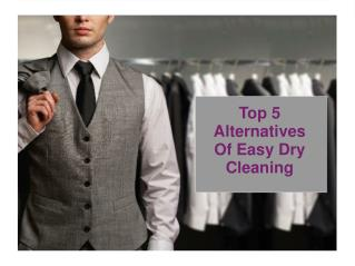 Top 5 Alternatives of Easy Dry Cleaning