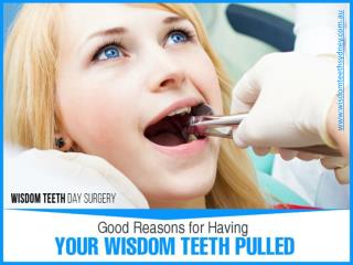 Reliable Wisdom Teeth Removal in Sydney
