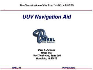 UUV Navigation Aid
