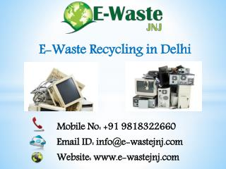E-Waste Recycling in Delhi