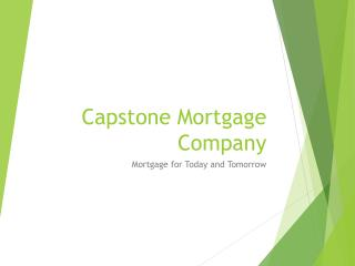 Fresh Strat Laon Arizona Capstone Mortgage