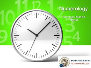 Numerology by Astrologer Manish Rawat