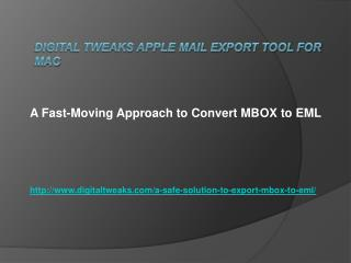 MBOX to Outlook Express Conversion