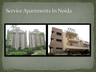 service apartments in noida