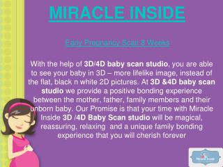 Early Pregnancy Scan 8 Weeks