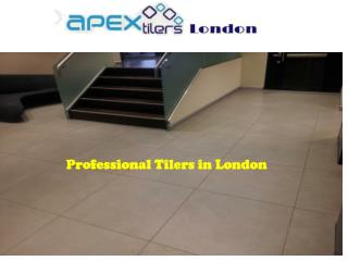 Professional Tilers in London