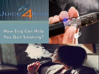 How Ecig Can Help You Quit Smoking
