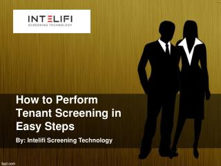 How to Perform Tenant Screening in Easy Steps